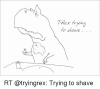trex-tryin-to-shave-rt-tryingrex-trying-to-shave-13406384.png